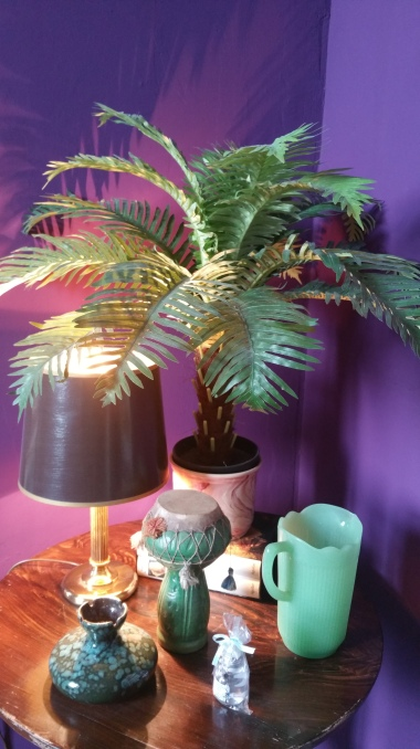 mini palm tree for some tropical feelings...