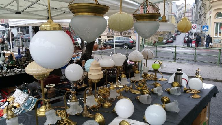 Art deco & nouveau lamps Vienna's flea gamanacasa