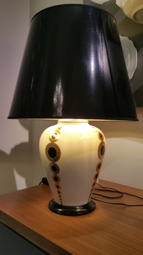 Augarten porcelain lamp gamanacasa