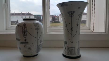 Augarten porcelain vases gamanacasa