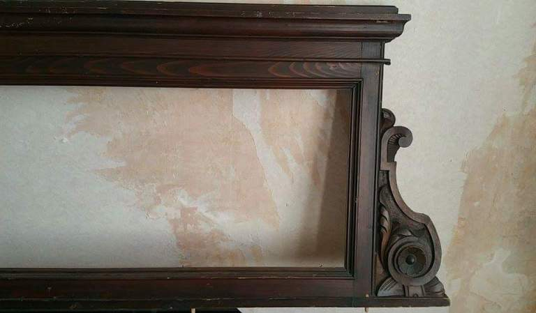 Living room door frames gamanacasa