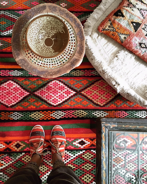 tribal inspired and Marrocan home decor at Red Thread Souk