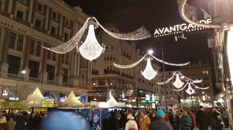 Vienna NewYear ball lights