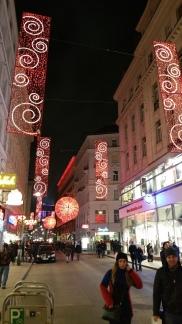 Vienna NewYear street lights 2