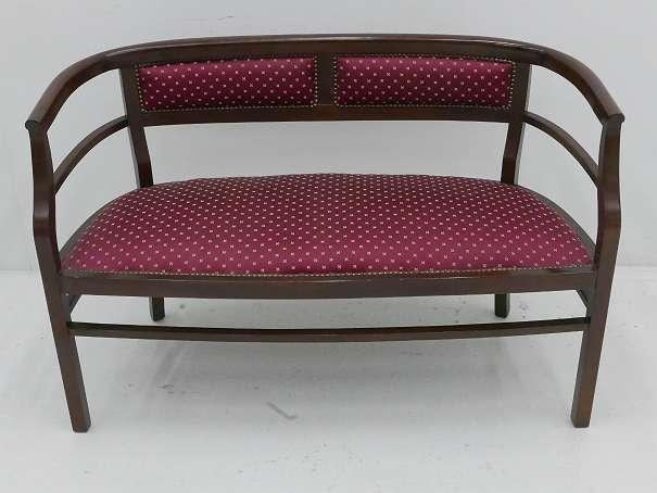 gamanacasa art nouveau bench