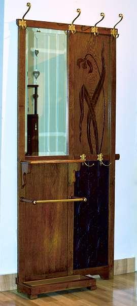 gamanacasa art nouveau garderobe