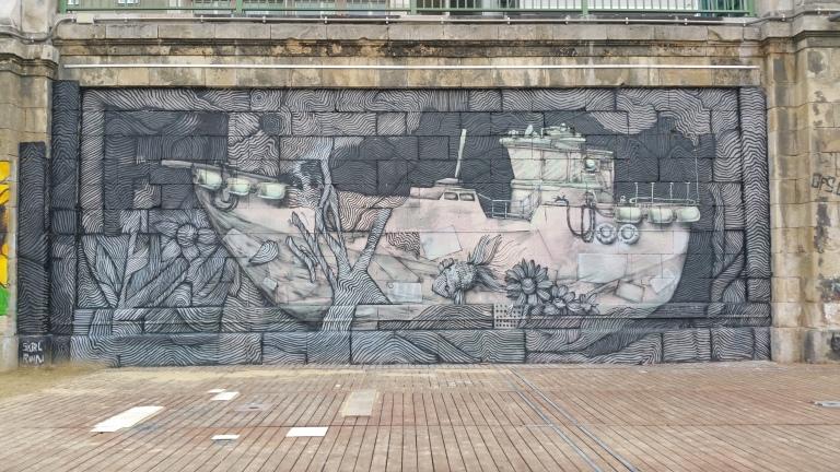 gamanacasa danube graffitti 4