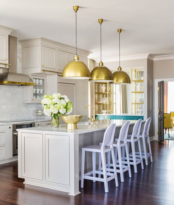 gamanacasa golden and grey kitchen from cococozy 2
