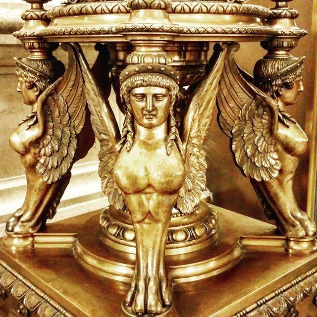 gamanacasa golden ornament state opera vienna