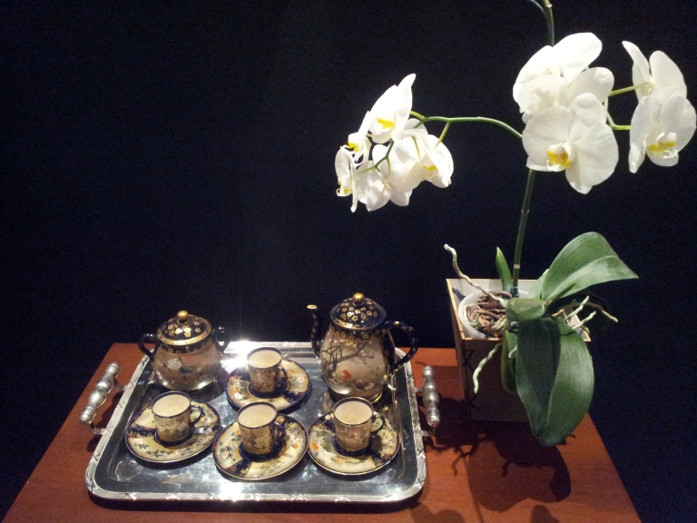 gamanacasa orchids coffee table