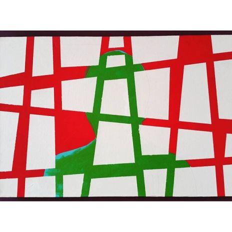 gamanacasa painting green vienna brazilian artist