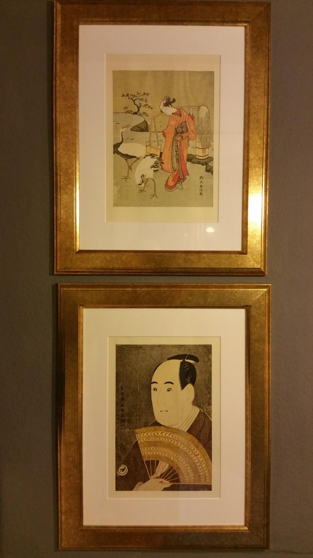 gamanacasa vienna kitchen golden frames pictures art