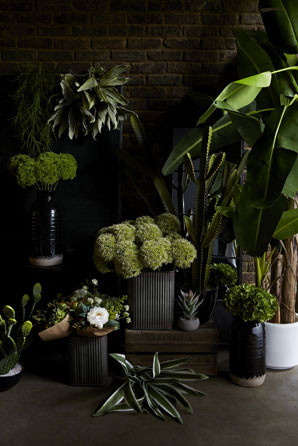 gamanacasa abigail ahern faux plants and flowers 11