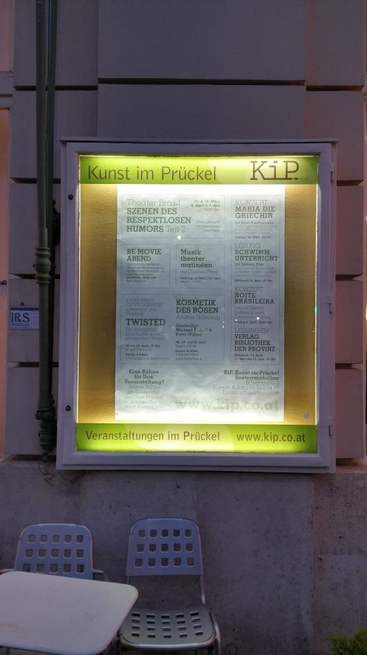 Gamanacasa vienna cafe pruckel theater