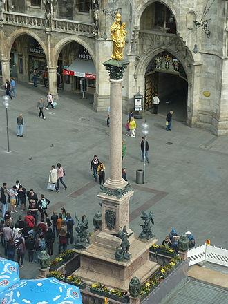 Gamanacasa vienna Mariensäule München
