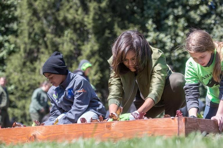 gamanacasa vienna michelle obama kitchen garden 6