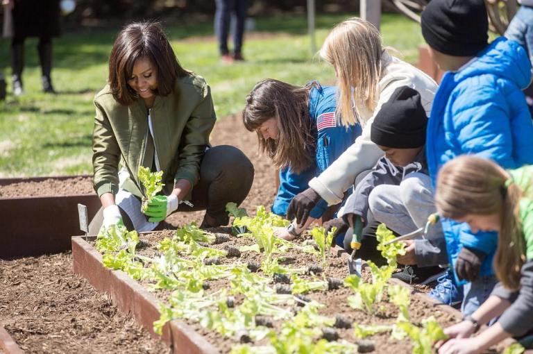 gamanacasa vienna michelle obama kitchen garden 7