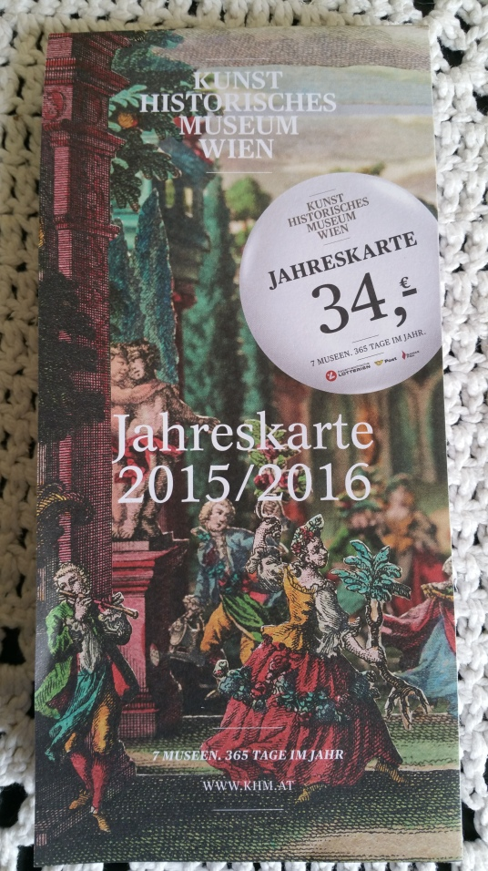 Gamanacasa vienna yearly ticket museum khm