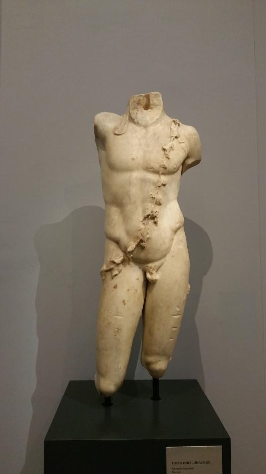 Gamanacasa museum wien roman boy torso