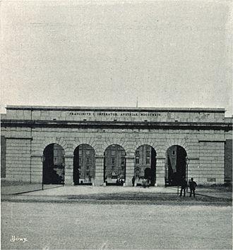 Gamanacasa Vienna Äusseres_Burgtor 1898