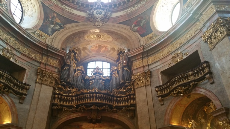 Gamanacasa vienna organ peterskirche