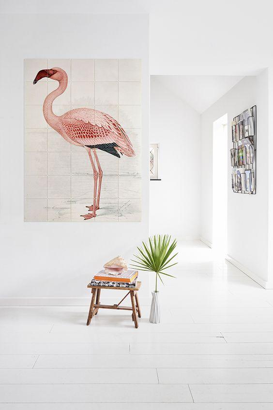 gamanacasa animal decor flamingo 1